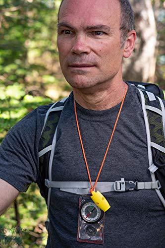 S.O.L. Survive Outdoors Longer  2 S.O.L. Survive Outdoors Longer S.O.L. Slim Rescue Howler Whistle