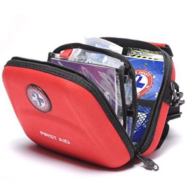 Be Smart Get Prepared First Aid Kit 2 Be Smart Get Prepared First Aid Kit, 303Count