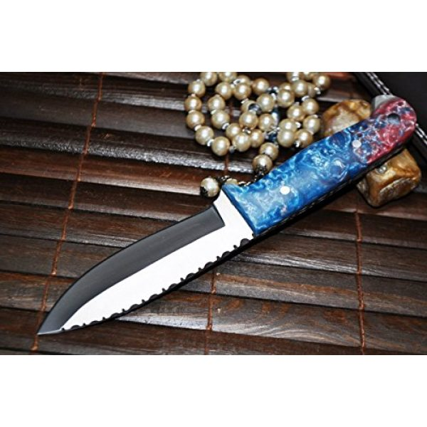 Perkin Fixed Blade Survival Knife 3 Hunting & Bushcraft Knife