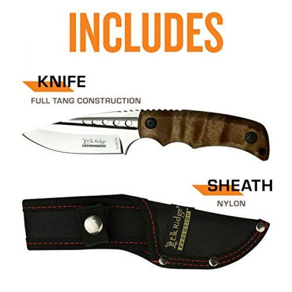 Elk Ridge Evolution Fixed Blade Survival Knife 5 Elk Ridge Evolution Fixed Blade Knife - ERE-FIX022-BW