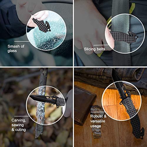 Seenew  3 Tactical Folding Knife - Escape Pocket Knife