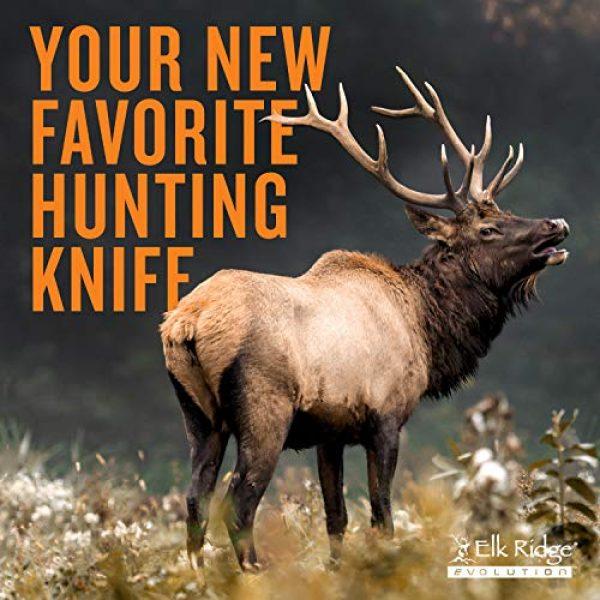 Elk Ridge Evolution Fixed Blade Survival Knife 6 Elk Ridge Evolution Fixed Blade Knife - ERE-FIX001-BK