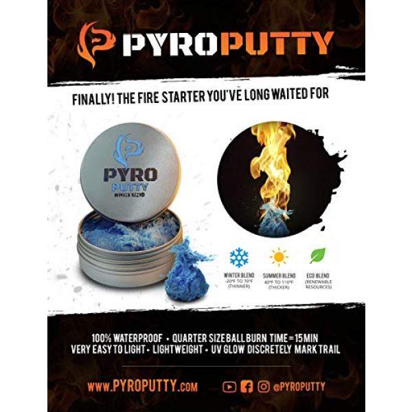 Phone Skope Survival Fire Starter 4 Phone Skope PYRO Putty ARC Lighter Kits | USB Rechargable |