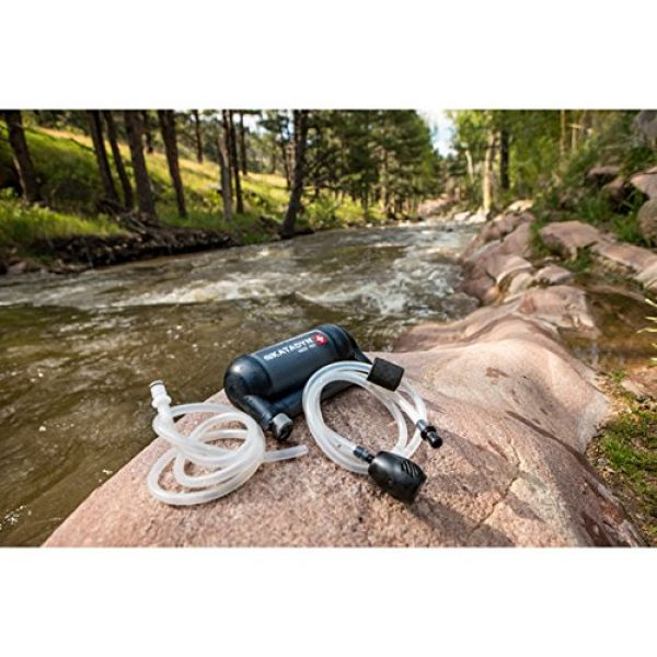 Katadyn Survival Water Filter 5 Katadyn Water Filter, Long Lasting for Personal or Small Group Camping, Backpacking or Emergency Preparedness Portable Micro Filter