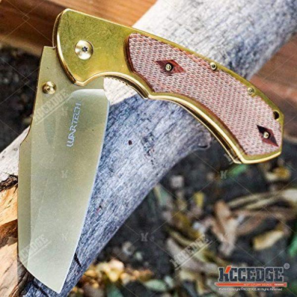 KCCEDGE BEST CUTLERY SOURCE Folding Survival Knife 5 KCCEDGE BEST CUTLERY SOURCE Pocket Knife Camping Accessories Razor Sharp Edge Sheep's Foot Folding Knife Camping Gear EDC Survival Kit 58304