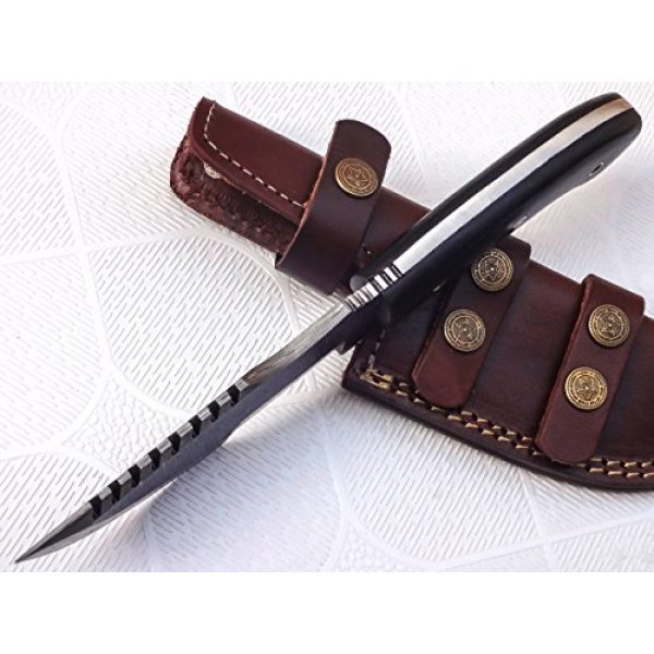 1166 Fixed Blade Survival Knife 6 TR-1166, Custom Handmade Tracker Knife - Special Promotional Price