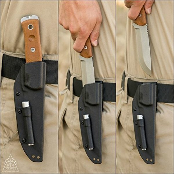 TOPS Knives Fixed Blade Survival Knife 3 TOPS Knives Brothers of Bushcraft - Tumble Finish