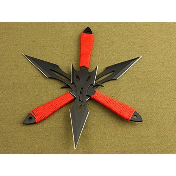 Regulus Fixed Blade Survival Knife 5 Regulus Knife Black Fox Titanium Black Darts (3)