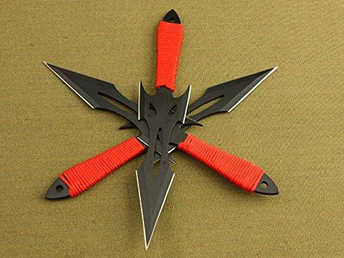 Regulus  5 Regulus Knife Black Fox Titanium Black Darts (3)