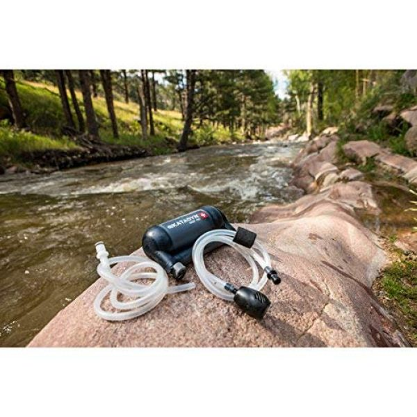 Katadyn Survival Water Filter 7 Katadyn Water Filter, Long Lasting for Personal or Small Group Camping, Backpacking or Emergency Preparedness Portable Micro Filter