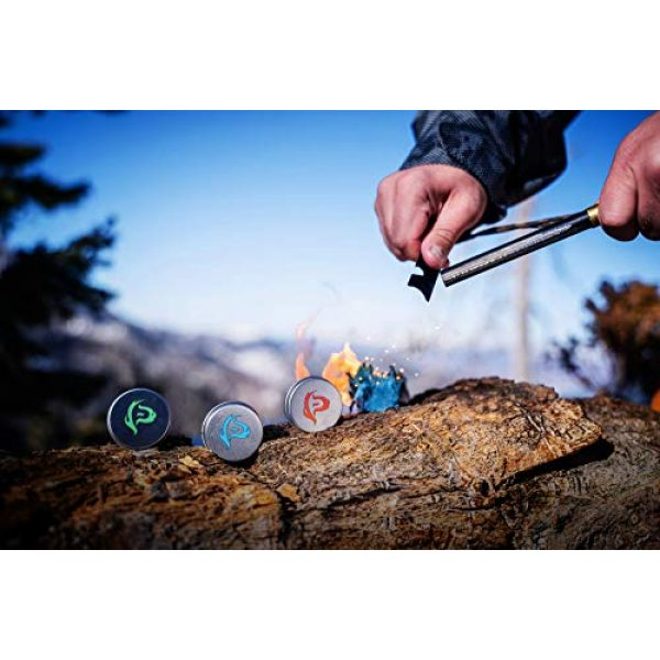 Phone Skope Survival Fire Starter 4 Phone Skope Pyro Putty Kits   Ultimate, Starter, or Ferro Rod   Comes w/Single Use Foils of Pyro Putty