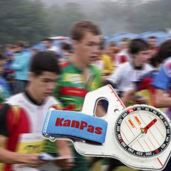 KanPas Survival Compass 4 Basic Training Competition Thumb Orienteering Compass for Foot Cross-Country Directional Movement