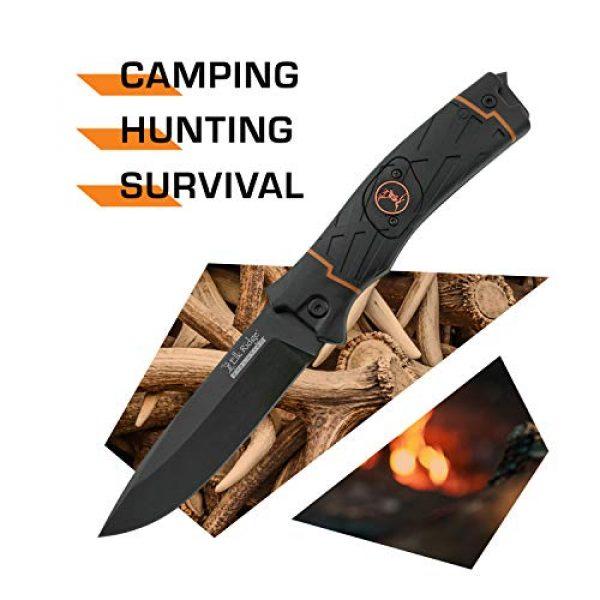 Elk Ridge Evolution Fixed Blade Survival Knife 2 Elk Ridge Evolution Fixed Blade Knife - ERE-FIX010LED-BO