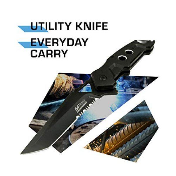 MTECH USA EVOLUTION Folding Survival Knife 2 MTech Evolution Spring Assisted Knife - MTE-A011-BK