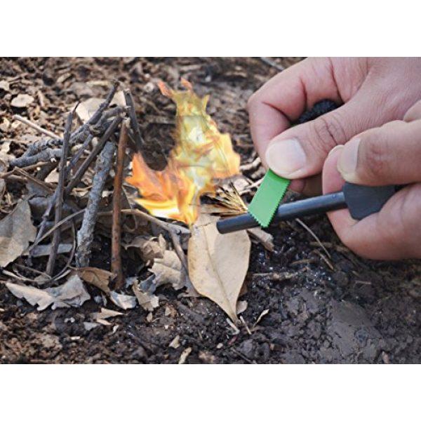 SE Survival Fire Starter 3 SE Jumbo Emergency Flint Firestarter and Striker - FS378