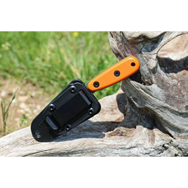 ESEE Fixed Blade Survival Knife 5 ESEE Knives Izula-OD w/Handle, Molded Polymer Sheath, and Clip Plate