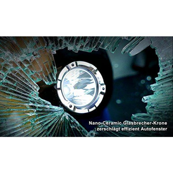 NEXTORCH Survival Flashlight 4 NEXTORCH TA5 Guardian 900 Lumen LED Duty Light, Safe Breaching with One Step Strobe Tail Cap Switch