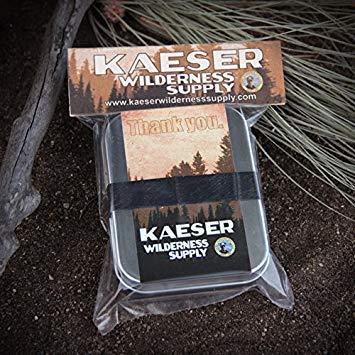 Steve Kaeser Survival Fire Starter 4 Steve Kaeser Fatwood 100% Natural Firestarter Sticks Hand Cut in The USA Ferro Rod Ferrocerium Flint Jute Fatwood Chips Striker Tin Container Survival Emergencies Camping Since 1989