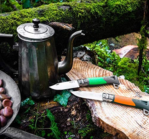 Opinel  6 Opinel No.12 Explore Stainless Steel Survival Knife - Multiple Colors