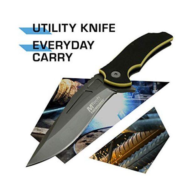 MTECH USA EVOLUTION Folding Survival Knife 2 MTech Evolution Spring Assisted Knife - MTE-A023-BYP