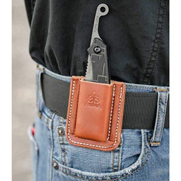 Tops Folding Survival Knife 5 Tops TRAZ-01 Tac Raze Folder
