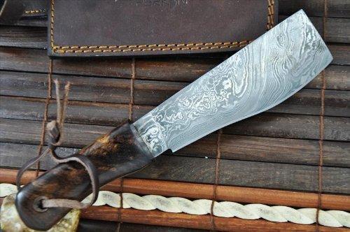 Perkin Knives  5 Perkin Knives - Damascus Steel Knife - Hunting Knife - Machete
