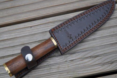 Perkin Knives  5 Perkin Knives - Custom Handmade Damascus Hunting Knife - Beautiful Boning Knife