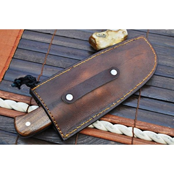 Perkin Fixed Blade Survival Knife 6 Perkin Knives- Handcrafted Hunting Knife 440c Steel | Rigging Knife