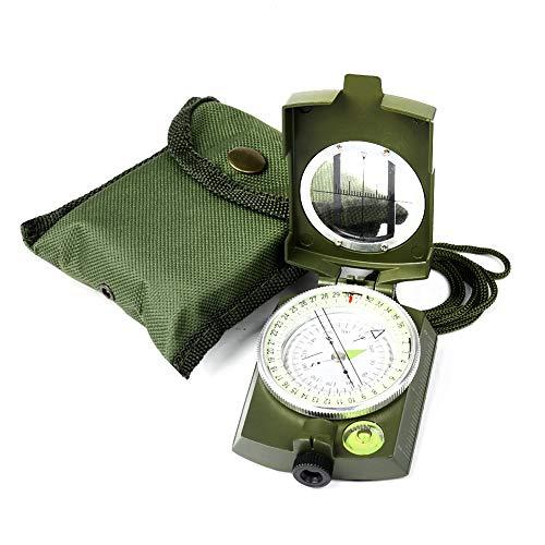 YEHOBU Survival Compass 7 YEHOBU Hiking Compass, Military Compass, Multifunctional Lensatic Compass, Waterproof Navigation Compasses, Survival Emergency Luminous Sighting Compass