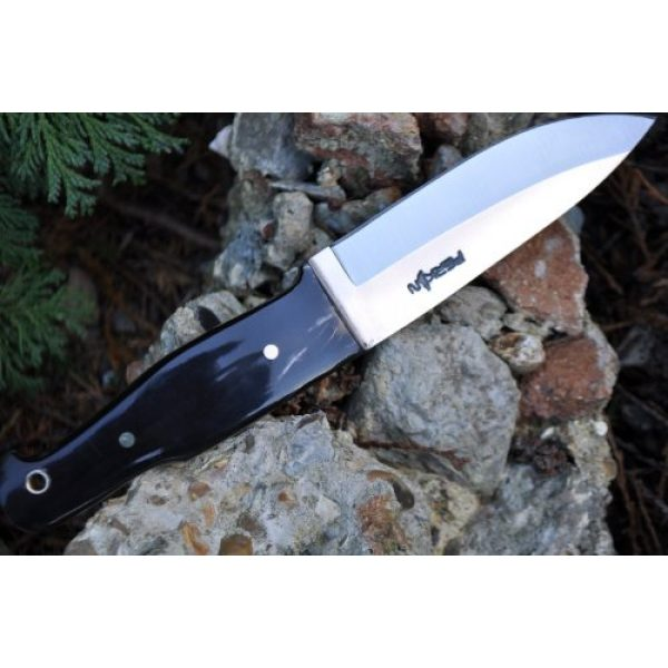 Perkin Fixed Blade Survival Knife 4 Perkin - Handmade Hunting Knife Fixed Blade Knife with Sheath Bushcraft Knife