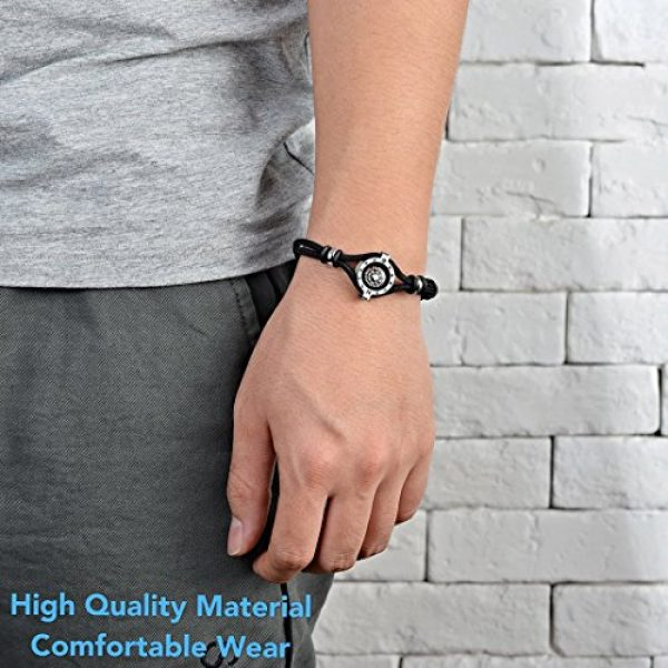 DAYHAO Survival Compass 3 DAYHAO Novelty Birthday Gift for Outdoor Enthusiast! Stylish & Practical, Quality Compass Bracelet, Luxurious Packaging, Paracord Bracelet for Hiking, Camping, Backpacking, Outdoorsman, Camper, Hiker