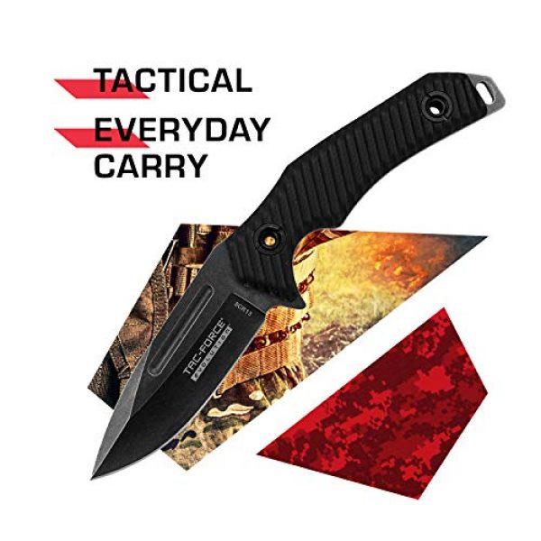 Tac Force Evolution Fixed Blade Survival Knife 2 Tac Force Evolution Fixed Blade Knife - TFE-FIX006-BK
