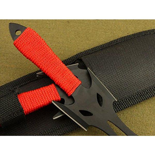 Regulus Fixed Blade Survival Knife 4 Regulus Knife Black Fox Titanium Black Darts (3)