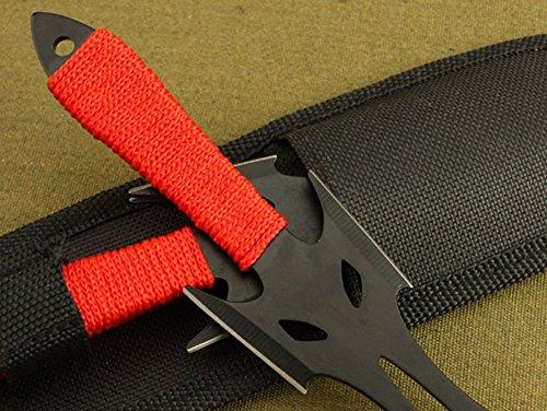 Regulus  4 Regulus Knife Black Fox Titanium Black Darts (3)