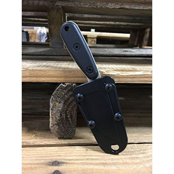 ESEE Fixed Blade Survival Knife 5 ESEE Knives Izula-DT w/Handle, Molded Polymer Sheath, and Clip Plate