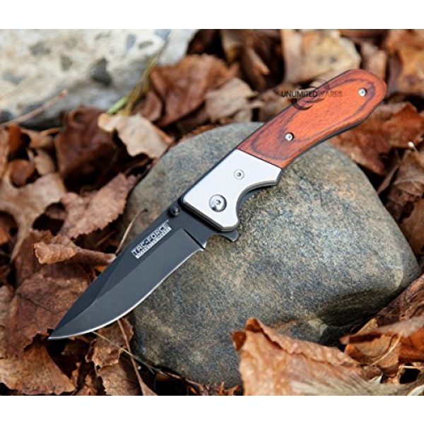 Snake Eye Tactical Folding Survival Knife 6 Snake Eye Tactical Everyday Carry Ultra Smooth One Hand Opening Folding Pocket Knife - Ideal for Recreational Work Hiking Camping