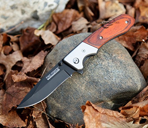 Snake Eye Tactical  6 Snake Eye Tactical Everyday Carry Ultra Smooth One Hand Opening Folding Pocket Knife - Ideal for Recreational Work Hiking Camping