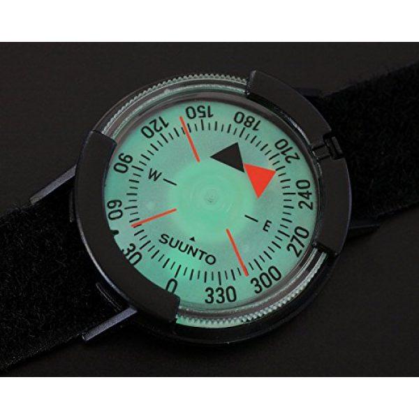 SUUNTO Survival Compass 4 Suunto M-9 w/Velcro Strap Compass