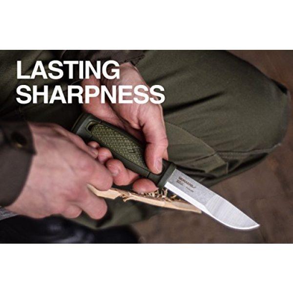 Morakniv Fixed Blade Survival Knife 5 Morakniv Kansbol Fixed Blade Knife with Sandvik Stainless Steel Blade