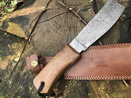 Perkin Knives  2 Perkin Knives - Damascus Steel Knife - Hunting Knife - Machete