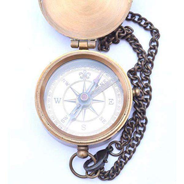 NEOVIVID Survival Compass 5 Neo Nautical Sundial Compass George Australia Sundial Watch Camping Hiking