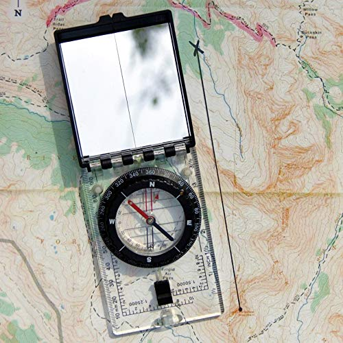 UST Survival Compass 2 UST Folding Map Compass