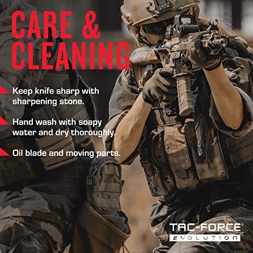 Tac Force Evolution  7 Tac Force Evolution Spring Assisted Knife - TFE-A014-BK