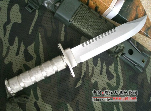 Crystal Fixed Blade Survival Knife 3 Crystal AITOR Jungle King I Silver Hunting Knife Straight Knife Tactical Knife Combat Camping Survival Outdoor AB216#