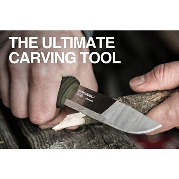Morakniv Fixed Blade Survival Knife 3 Morakniv Kansbol Fixed Blade Knife with Sandvik Stainless Steel Blade