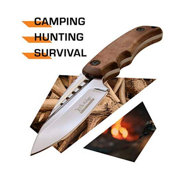 Elk Ridge Evolution Fixed Blade Survival Knife 2 Elk Ridge Evolution Fixed Blade Knife - ERE-FIX022-BW