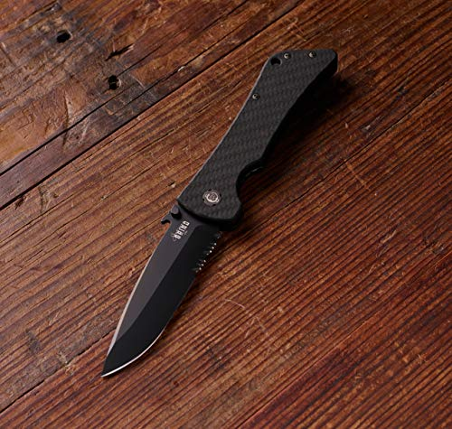Southern Grind  6 Southern Grind Bad Monkey Folding Knife w/Emerson Drop Point Blade.