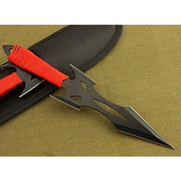 Regulus Fixed Blade Survival Knife 2 Regulus Knife Black Fox Titanium Black Darts (3)