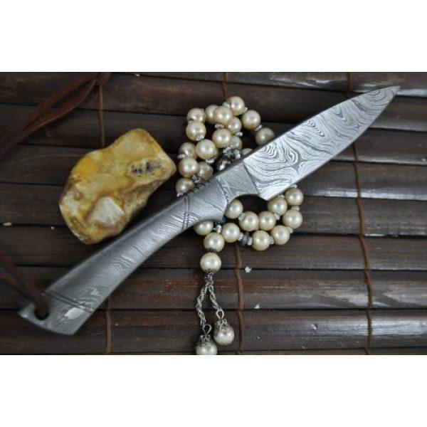 Perkin Fixed Blade Survival Knife 3 Perkin - Beautiful Custom Handmade - Camping Knife with Sheath