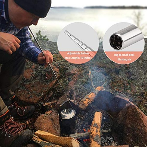 Alona Magic Survival Fire Starter 3 Alona Magic Fire Starter with Emergency Whistle, Portable Case for Emergency Survival Kits, Camping, Hiking, All-Weather Magnesium Ferro Rod